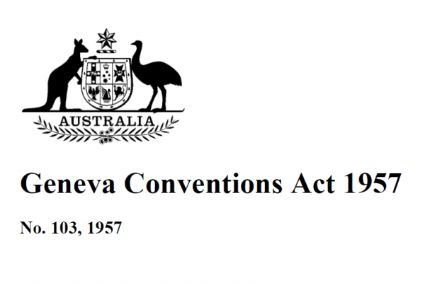 Geneva Conventions Act 1957