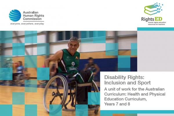 Lesson Plan - Disability Rights, Inclusion and Sport