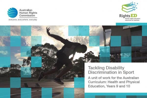 Lesson Plan – Tackling Disability Discrimination in Sport