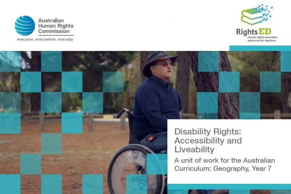 Lesson Plan - Disability Rights, Accessibility and Liveability