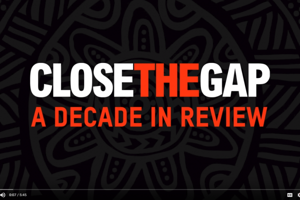 Close the Gap decade in review