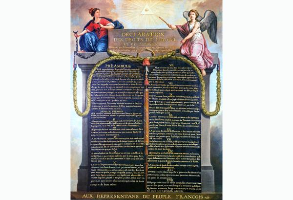 Declaration of the Rights of Man and the Citizen 1789