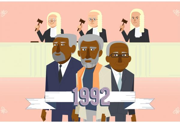 1992 - judges and Mabo claimants